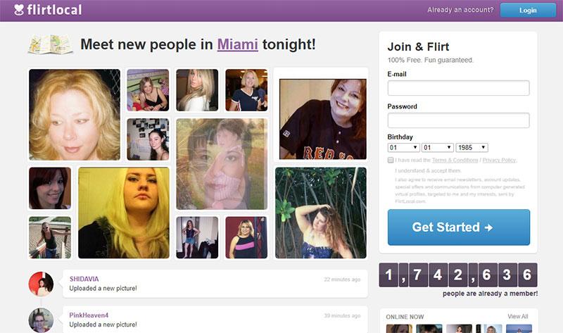 flirtlocal.com screenshot